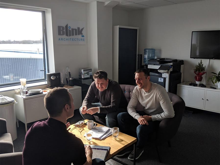 Chris Holland 9G meeting with Blink Architecture