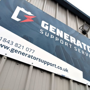 Generator Support servcies sign by 9G Websites