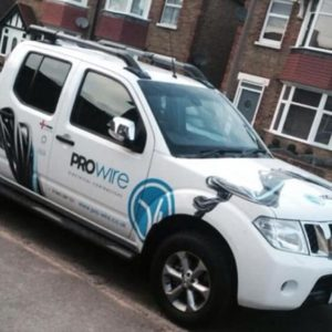 prowire vehicle graphics by 9G Websites
