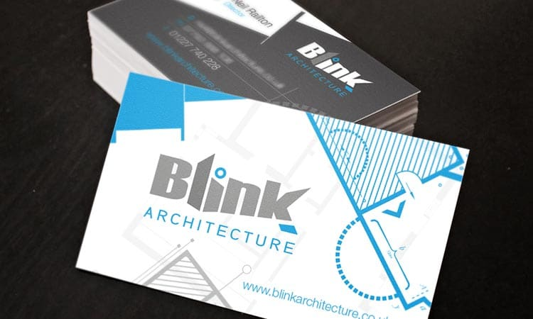blink-architecture-cards logo design by 9G Websites