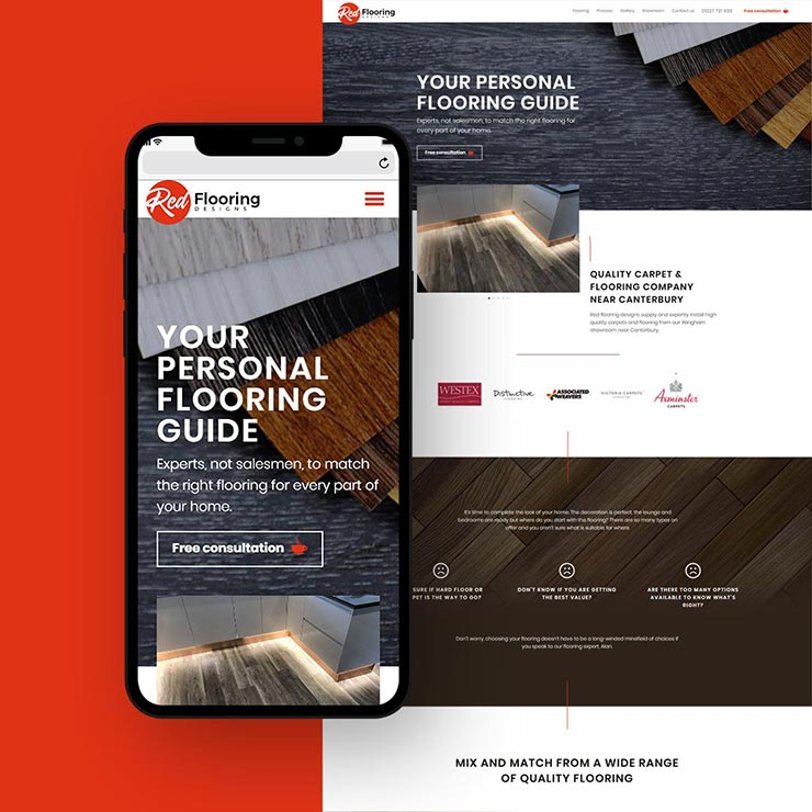red flooring launch image