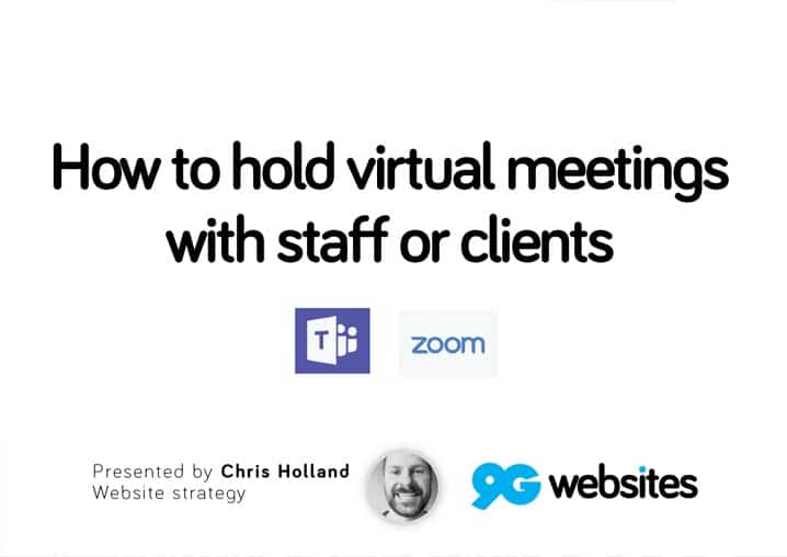 how to hold virtual meetings