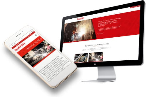 Barton Engineering Whitstable web design by 9G Websites
